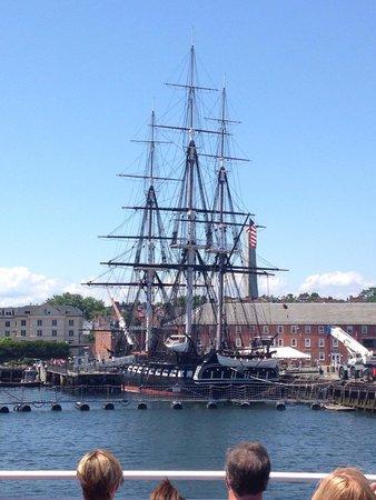 Boston Harbor Cruises : USS Constitution