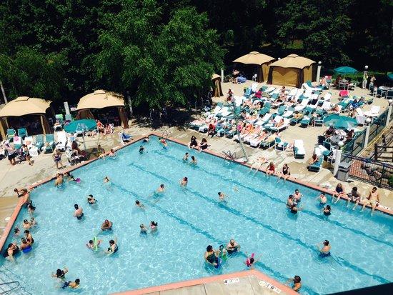 Cove of Lake Geneva: Pool Area