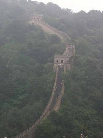 Gran Muralla China en Mutianyu: The view