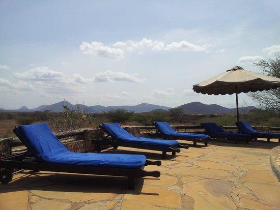 Samburu Sopa Lodge: piscine