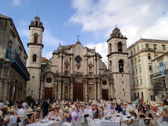 Plaza de la Catedral: Plaza during an event
