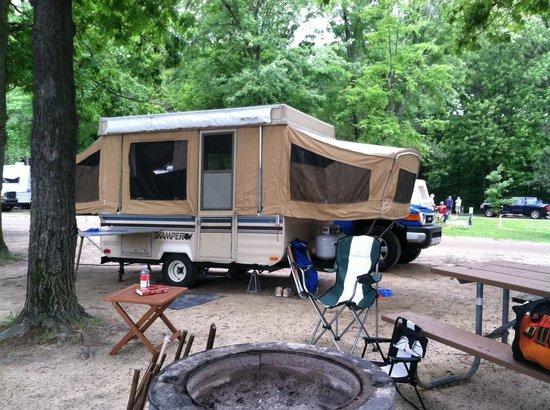 Metamora-Hadley State Recreation Area: Camp