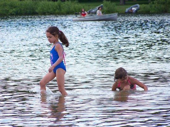 Metamora-Hadley State Recreation Area: Beach