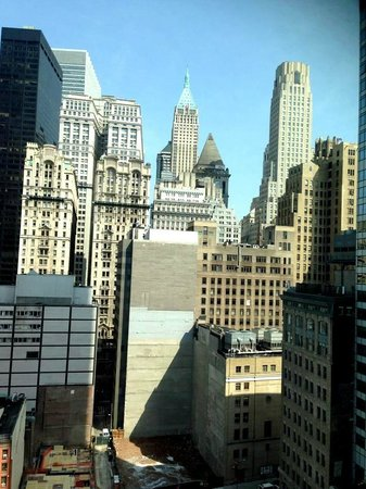 Club Quarters Hotel, World Trade Center: View from room 1610