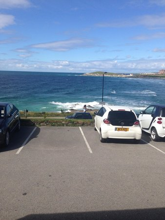 Fistral Beach Hotel and Spa : View from hotel