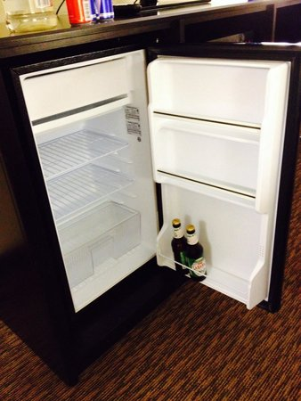 Super 8 Asheville Tunnel Road: Very large refrigerator!