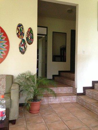 Pura Vida Hotel : from entrance