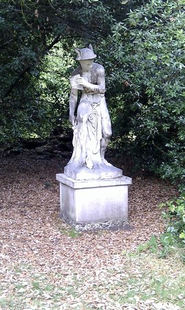National Trust Cliveden: One of many statues in the woods
