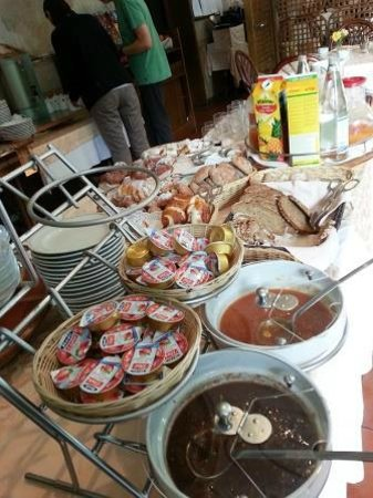 Scala Stiegl Hotel: Some of the breakfast delights