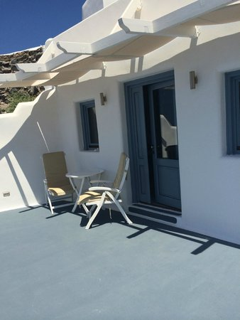 Angels & Stars Suites and SPA : Private terrace