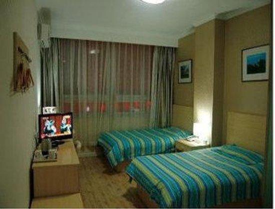 Super 8 Hotel Chengde Bi Shu Shan Zhuang: Two Twin Bed Room