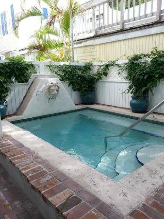 Artist House: Hot tub