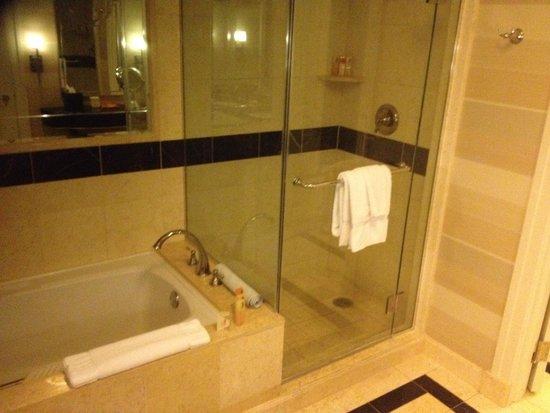 The Palazzo Resort Hotel Casino: shower