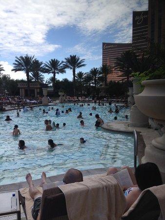 The Palazzo Resort Hotel Casino: pool area