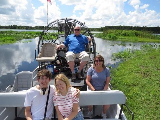 Boggy Creek Airboat Rides: Ask for Eddie