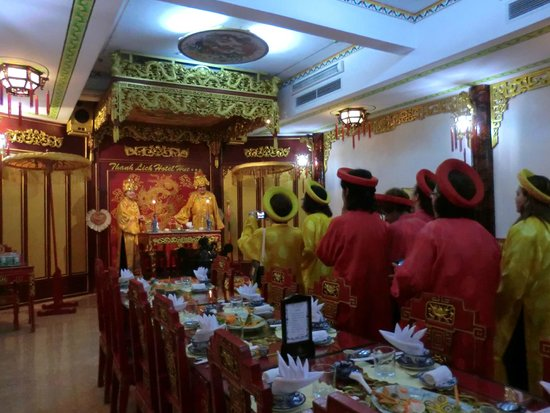 Thanh Lich Hotel: Jantar Imperial