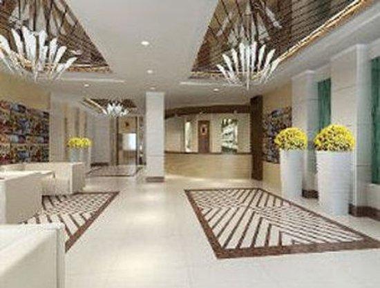 Super 8 Hotel Wu Wei: Lobby