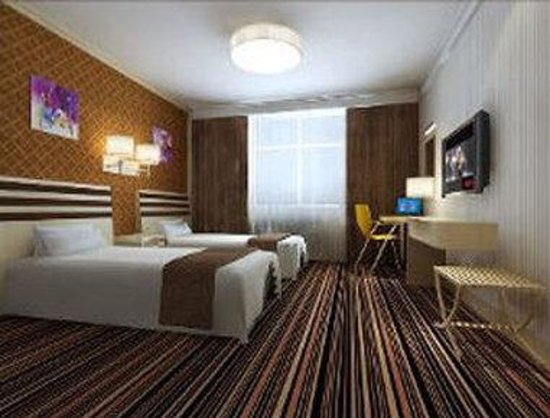 Super 8 Hotel Wu Wei: Two Twin Bed Room