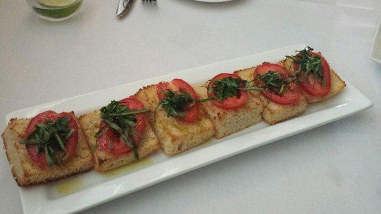 Napoli Ristorante & Pizzeria: Bruschetta Pomodoro