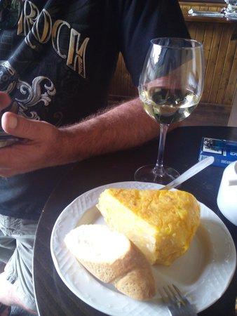 A Baiuca: Tortilla
