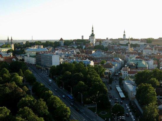Original Sokos Hotel Viru: Blick vom Hotel auf die Altstadt