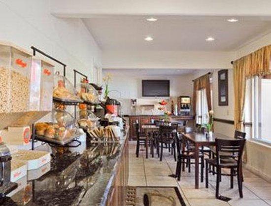 Days Inn Market Center Dallas : Breakfast Area