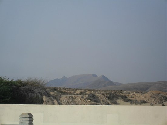 KN Matas Blancas : view to mountains from hotel roof