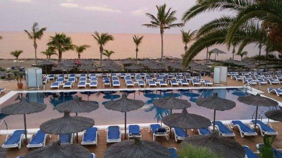 VIK Hotel San Antonio: View from the bar terrace