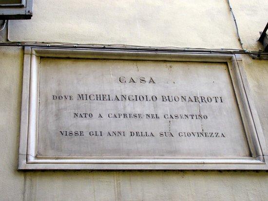 Hotel Santa Croce: Michaelangelo lived next door to Hotel.