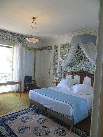 Hotel Negresco: Our Blue Room