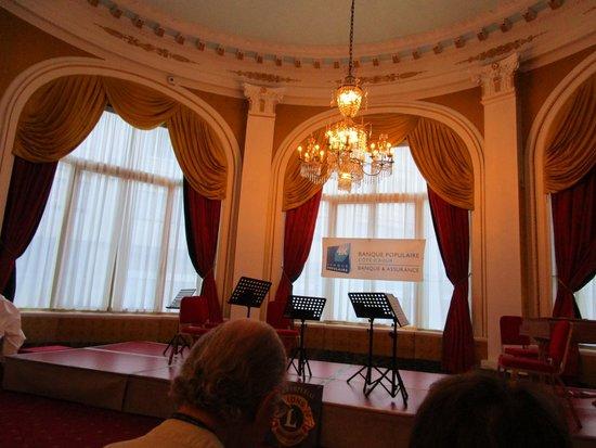 Hotel Negresco: The hotel's concert hall/ Meeting room