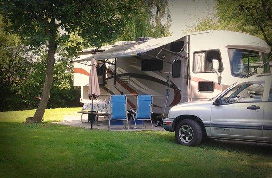 Mill Bridge Village & Campresort: Big rigs welcome!