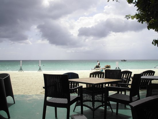 Grand Pineapple Beach Negril: view from the Bar Patio