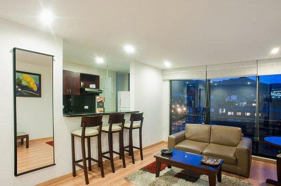 Tivoli Suites: Living Room