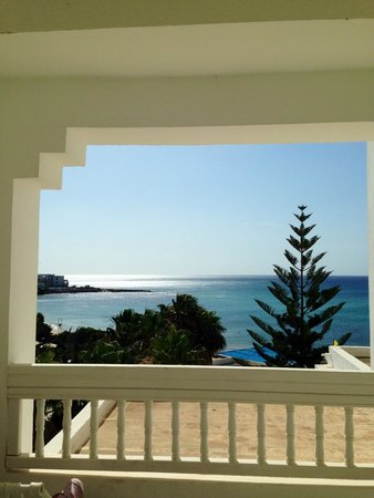 SENTIDO Aziza Beach Golf & Spa: The view (room 255)