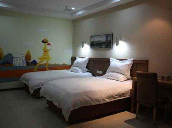Super 8 Hotel Wenzhou Wang Jiang Lu : Two Twin Bedroom
