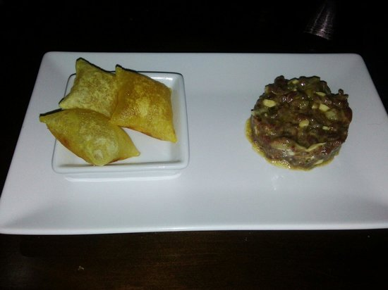Origen Taberna : Steak tartar