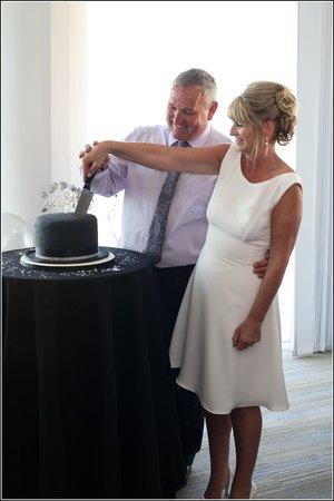 Venue Cymru: cutting cake