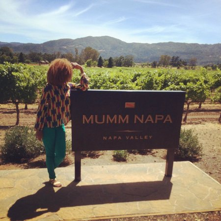 Mumm Napa: Overlooking