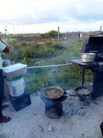 Thursday Fish Fry: Whole fish frying