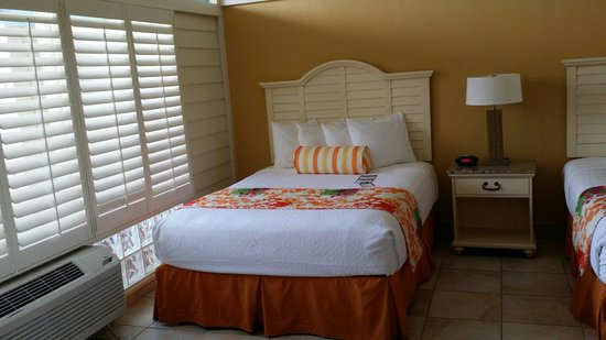 Best Western Plus Yacht Harbor Inn: Cute decor in very spacious and clean pet friendly room.