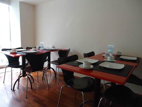 Tango Lodge: Espaço Café da manhã