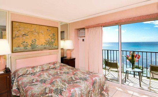 Aston Waikiki Beachside Hotel: Hotel Room Deluxe Ocean View