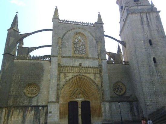 Basílica de Lekeitio: Facade