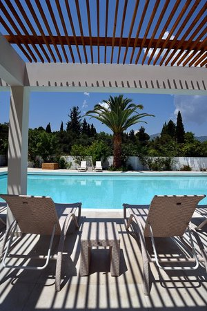 Corfu Palma Boutique Hotel: The hotel pool