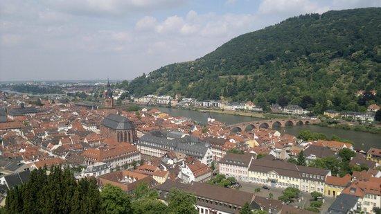 Schloss Heidelberg: Vista
