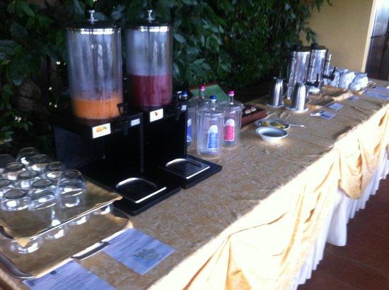 Relais Vignale & Spa: Buffet colazione