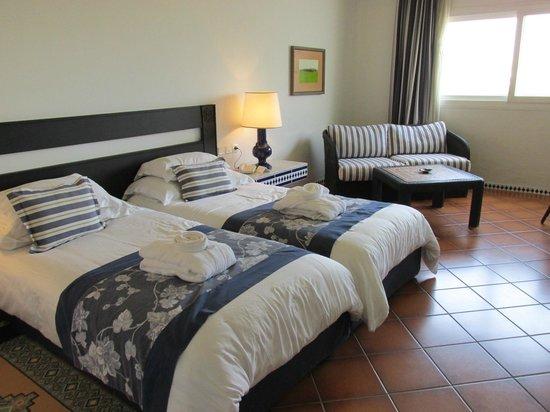 Hotel Riu Tikida Beach : Le confort de la chambre
