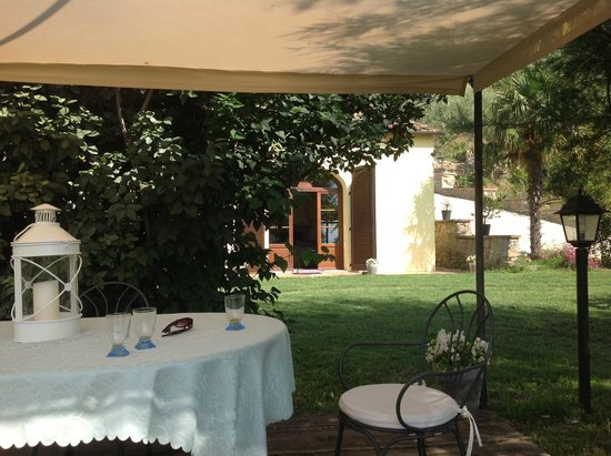 Fonte Al Vento : outside dining area