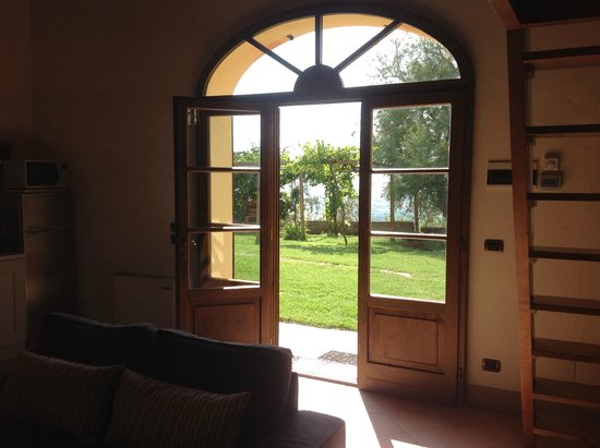 Fonte Al Vento : the view out the front door